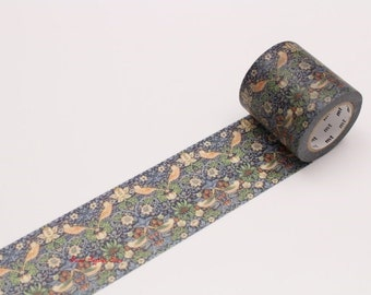 William Morris Strawberry Thief Japanese Washi Tape  (MTWILL05) Price depends on order volume. Buy other items together for BETTER price.