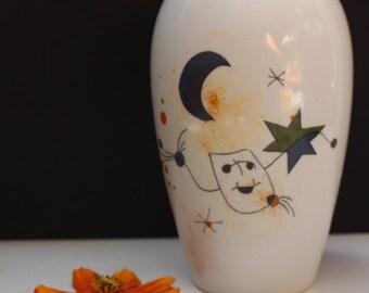 Juan MIro Vase by Ackermann Porzellan in Hinterhof Bavaria  Porcelain