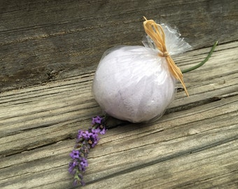 Calming Soothing Lavender Bath Bomb, Pampering Gift for HER