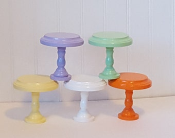 Single cupcake stand / Mini cupcake stand / Individual cupcake stand / Wedding Favor / Baby Shower / Birthday Party / Photo Prop