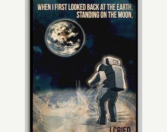 50% OFF Alan Shepard NASA Space Poster - 11x17
