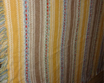 Vintage Hand Made Wool Soft and Blankets and Shawl