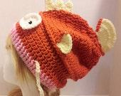 Crochet Magikarp beanie