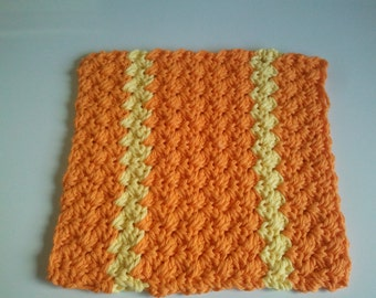 Dish/Wash Cloth handmade using 100% Cotton yarn Ready To Ship