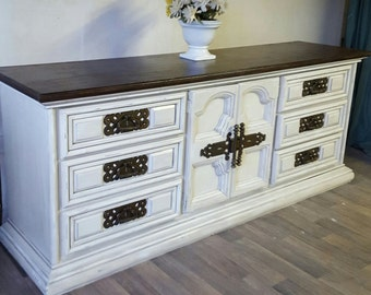 Custom to Order French Country 2 Tone Buffet or dresser