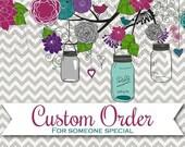 Custom Order for Rachael - 2 Jars