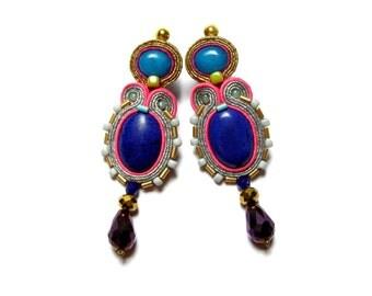 Soutache Earrings - Klotylda