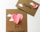 Custom Order for Ayme (8 cards and 18 place cards)