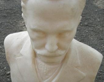 bust of Ivan Franko Ukrainian writer plastic