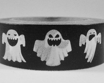 Halloween Washi Tape BOO!!! 15mm x 10 Meters