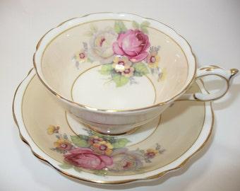 Vintage Paragon Bone China Teacup & Saucer