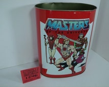 1980's Chein Masters of the Universe Trash can