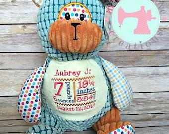 Bear Custom Embroidered Stuffed Animal