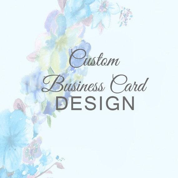 Custom Business Card Design pdf or jpeg Calling Card Mommy ...