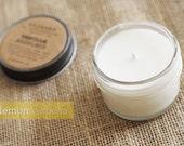 Lemon Verbena, 4oz Soy Candle in a Reusable Glass Jar