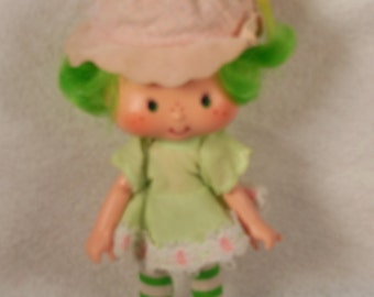 Vintage Strawberry Shortcake Doll-Lime Chiffon-All Original-American Greetings-1979-