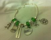 Supernatural inspired Mrs Sam Winchester European Charm Bracelet