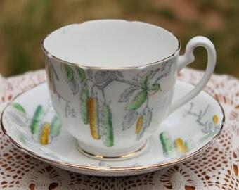 MELBA Bone China Teacup And Saucer Set