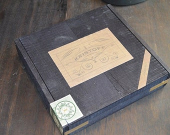 Vintage Kristoff Cigar Box