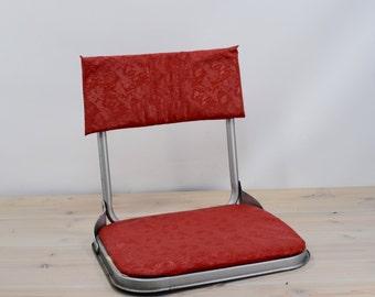 Vintage Stadium Seat Red,