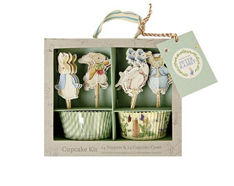 Peter Rabbit Cupcake Kit - Gift Packaging Paper Party Supplies