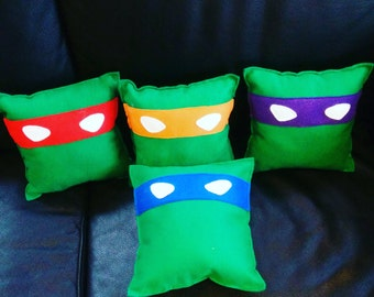 Ninja Turtle Pillows