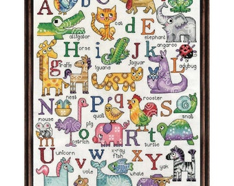 Cross Stitch Kit - ABC Sampler