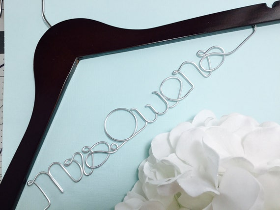 Personalised Wedding Gifts Quick Delivery : Fast shipping & turn over time. Personalized Wedding Hanger, Custom ...