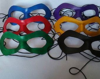 Hero masks - Color - Handmade