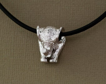 Cute Elephant Pendant handmade in Sterling Silver, Elephant Jewelry, Elephant Necklace