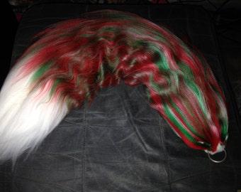 x-mas yarn tail