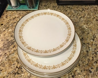 Imperial Gold (Sheffield) Dinner Plates