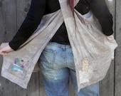Wrap Linen Harvest Apron/Pinne Misses free size fits S-L plus size fits 14 - up