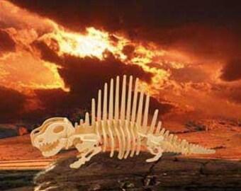 Dinosaur (Dimeterodon) Wood Puzzle