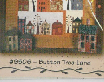 Button Tree Quilting Pattern
