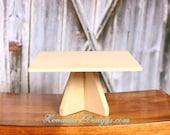 Cake Plate MDF Wood Stand Display