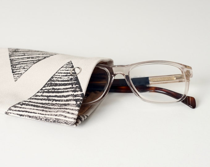 Glasses case, Sunglasses case, Block printed glasses case