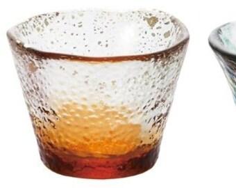 From Japan Guinomi Glass Sake Cup Set Tsugaru