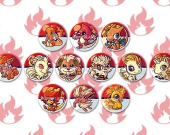 First Generation Fire Pokemon