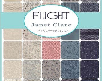 Layer Cake Flight by Janet Clare for Moda - Early release available now