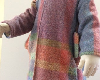 Wool coat size 1-2 yrs