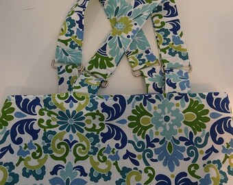 Handcrafted lined tote