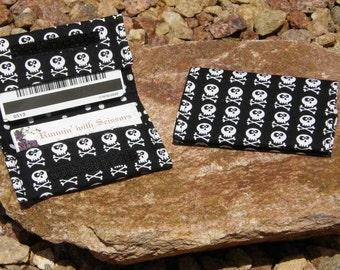 Mini Skulls Business Cardholder/Mini-Wallet