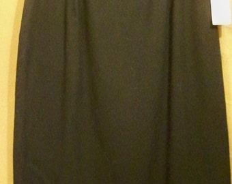 Jones Of New York Lined Wool Skirt - Size 10 - Red Dirt Girl - 282