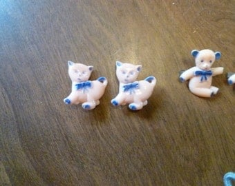 Four Children's Hair Clips