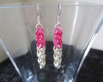 Shaggy Loop Chainmaille Earrings