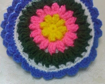 Crocheted Round Potholders