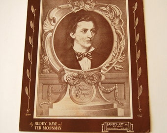 Vintage Sheet Music, Till The End of Time