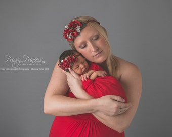 Newborn Wrap,  Layering Wrap, Wrap, Baby Wrap, Photo Prop, Textured Wrap, Accessories, Photo, Newborn, Prop, Red Wrap, Red Layer, Red