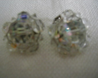 Lovely Aurora  clip earrings very neutral for spring and summer or that summer wedding.